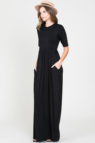 The Total Maxi in Short Sleeve