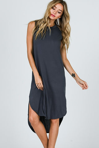 Endless Summer Dress in Charcoal