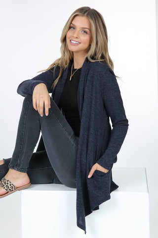 Your Favorite Basic Cardigan in Navy