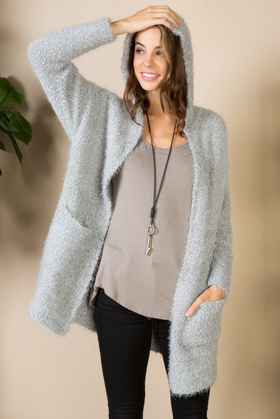 Your Favorite Cardigan in Grey