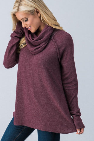 Laid Back Tunic in Wine