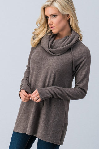 Laid Back Tunic in Mocha