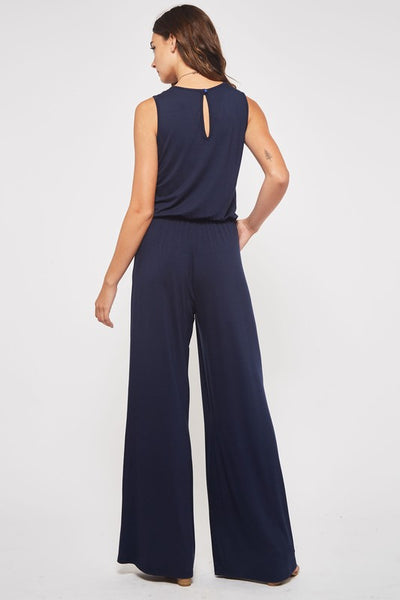 Meet Me at Happy Hour Jumpsuit in BLACK