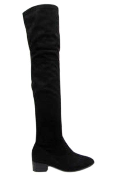 City Walking Thigh High Boots
