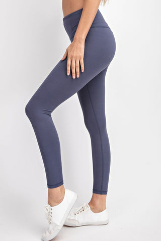 The BEST Leggings in Denim Blue