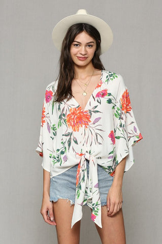 Eye Catching Floral Top