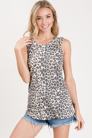 Animal Instinct Top in Leopard