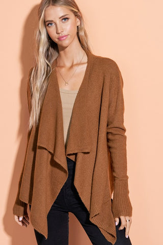 All Day Comfort Open Cardigan