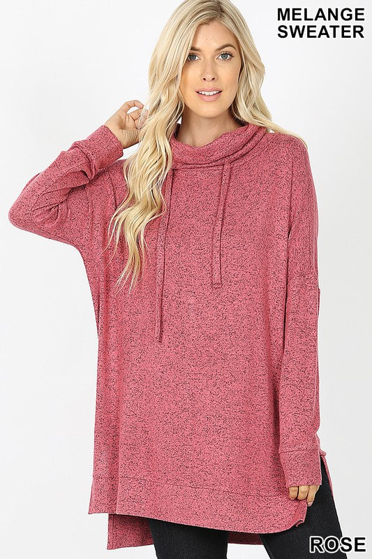 Time to Relax Tunic in Rose