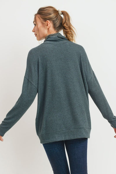 Time to Get Cozy Tunic in Teal