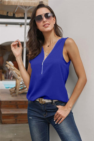 Make a Statement Top in Blue
