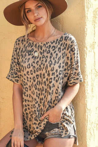 Casual Chic Leopard Top