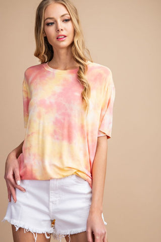 Everyday Vibes Tie Dye Top