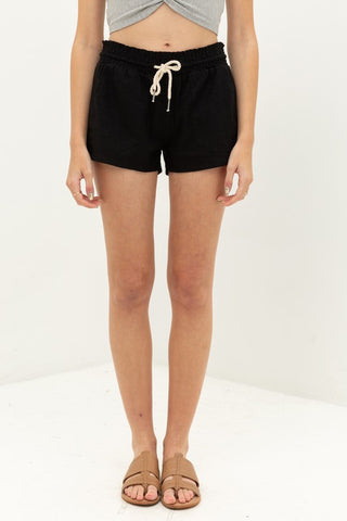 Essential for Summer Shorts in Black