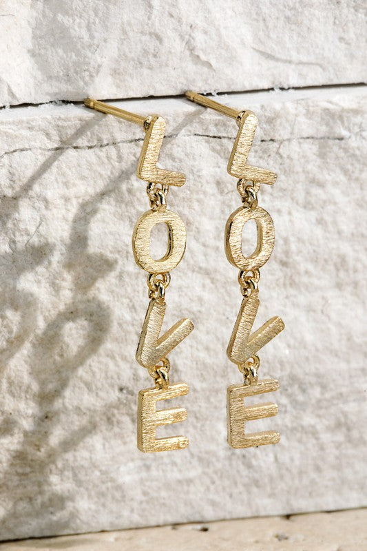 LOVE Dangle Earring