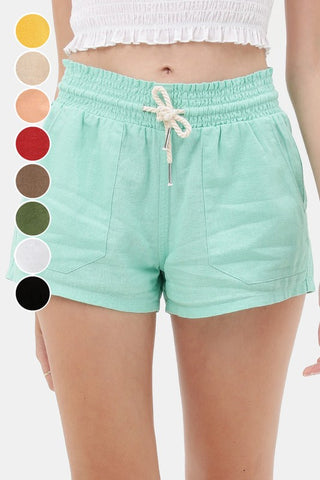 Essential for Summer Shorts in Mint