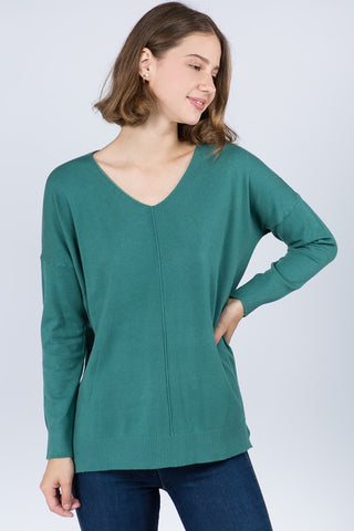 Dream On Sweater in Teal