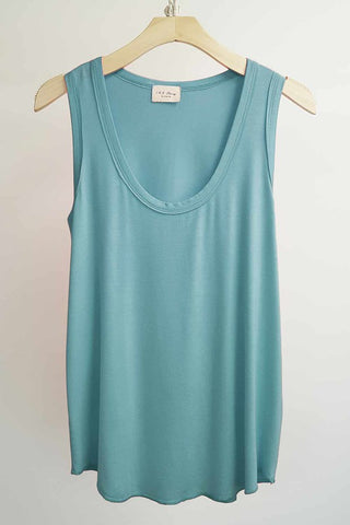 Summer's Best Basic Tank in River Blue