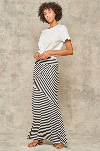 Bold Striped Maxi