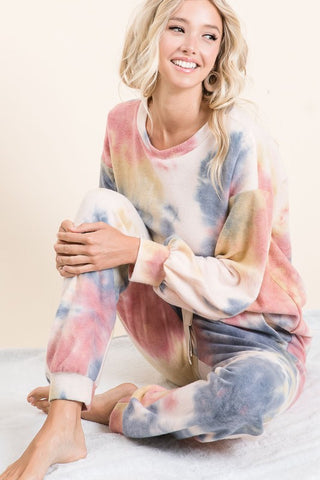 Cozy Tie Dye Lounge Set