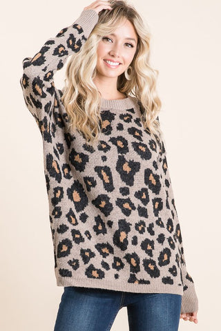 Leopard All Day Sweater