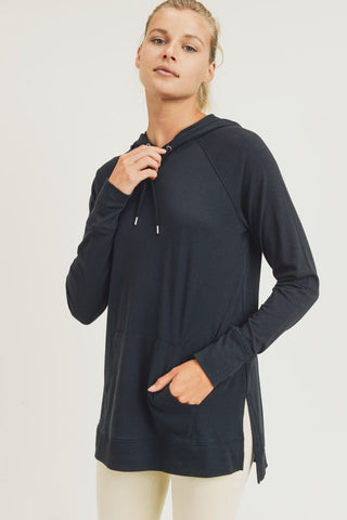 Crisp Morning Hoodie in Black
