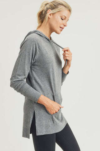 Crisp Morning Hoodie in Grey