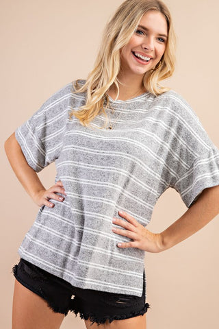 Amazingly Soft Striped Top