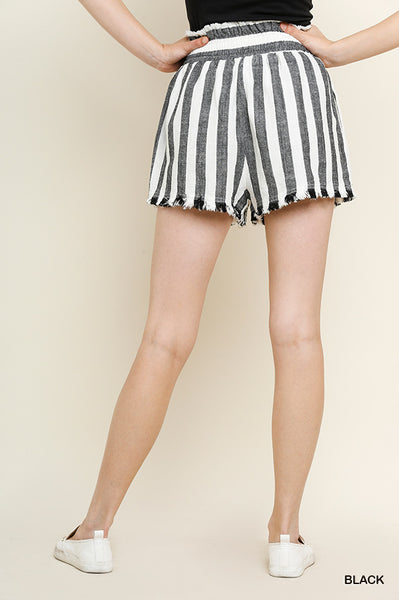 Coastal Striped Shorts