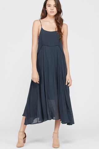 Take Me Anywhere Dress in Navy