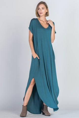 Weekend Getaway Maxi in Teal