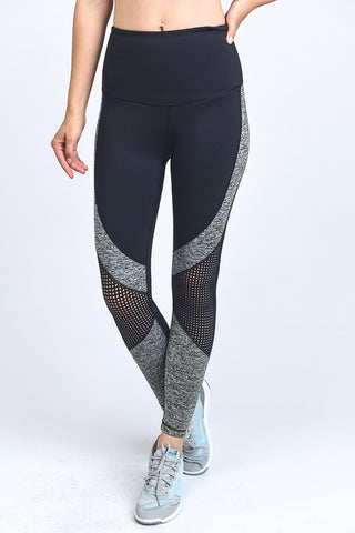 Dot Mesh Leggings