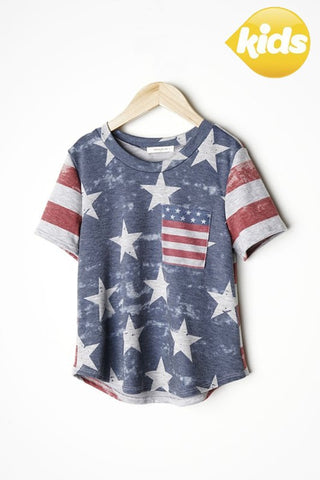 Kid's Stars and Stripes Top
