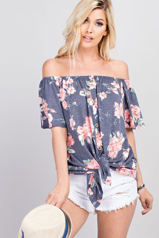 Blossoming Beauty Top