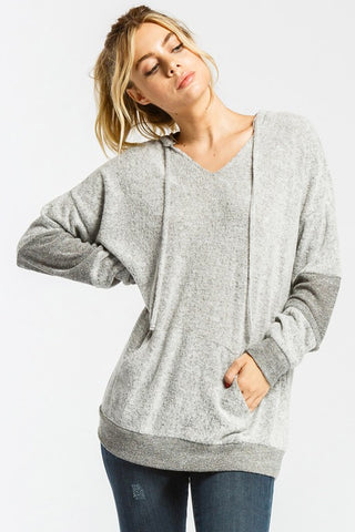 Your Softest Hoodie EVER in Grey