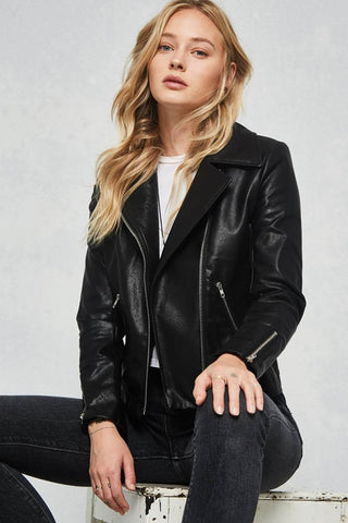 Luscious Leather Jacket