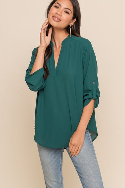 Your Go-To Top in Forest Green