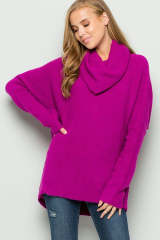 Endless Options Sweater in Orchid