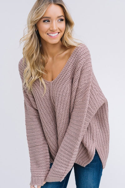 Bold Sweater in Mocha