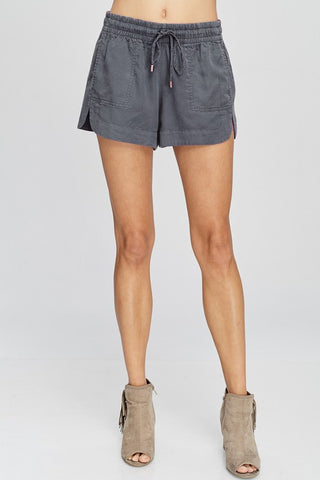 Your Comfy Shorts in Charcoal