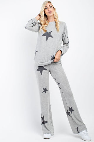 Starry Night Flare Pant