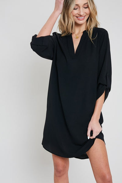 The Mallory Dress in Black