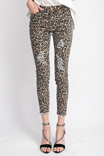 Walking on the Wild Side Pants in Brown