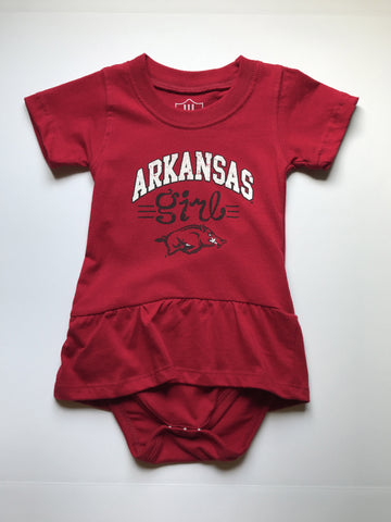 Arkansas Girl Onesie Dress