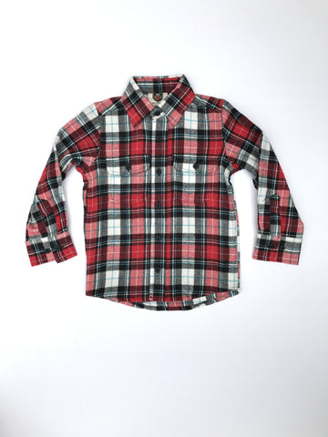 Cherry Flannel Shirt