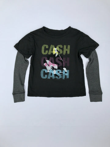Johnny Cash Layered Tee