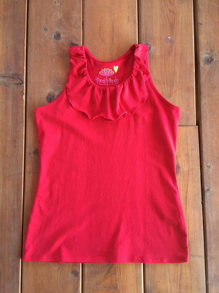 Baylor Racerback Top in Red
