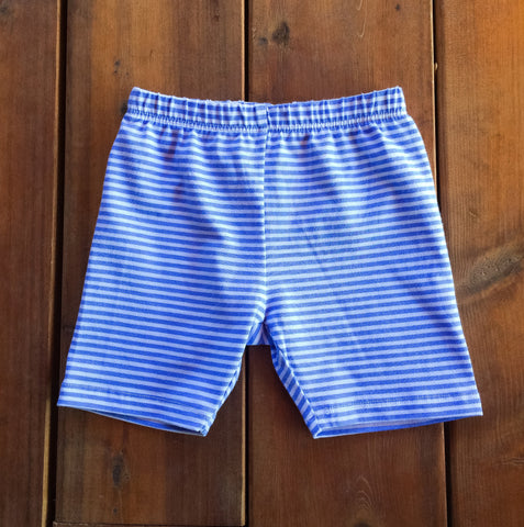Buddy Biker in Periwinkle Stripe