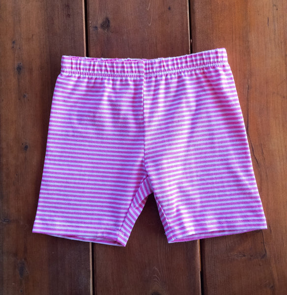 Buddy Biker in Pink Stripe