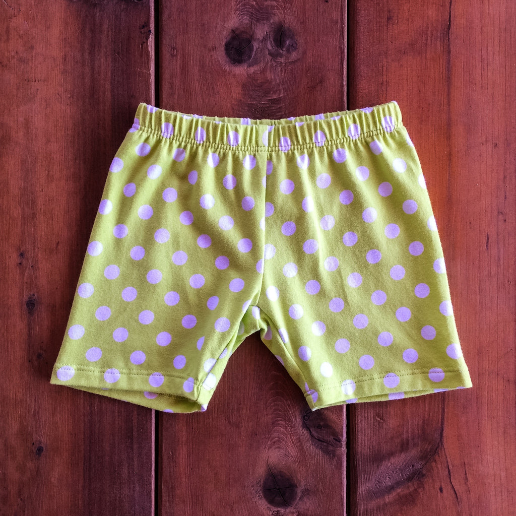 Buddy Biker in Lime Dot